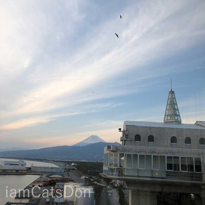 びゅうお 富士山景色