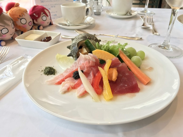 淡島ホテル シャイニーランチ 前菜
