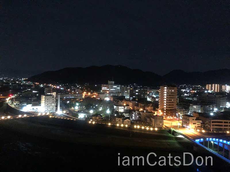 沼津リバーサイドホテル夜景