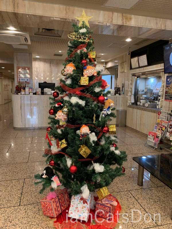 沼津 グランドホテル クリスマスツリー 2019