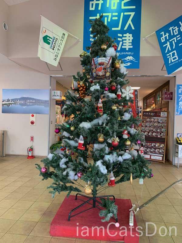 沼津みなと新鮮館 クリスマスツリー 2019