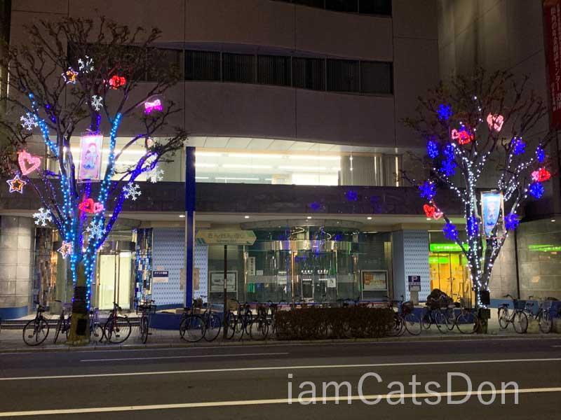 清水銀行 沼津支店 クリスマスツリー 2019