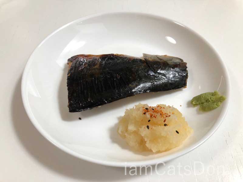 ヤマカ水産 沼津 北口店 正子さんの醤油干し 焼いた 表面