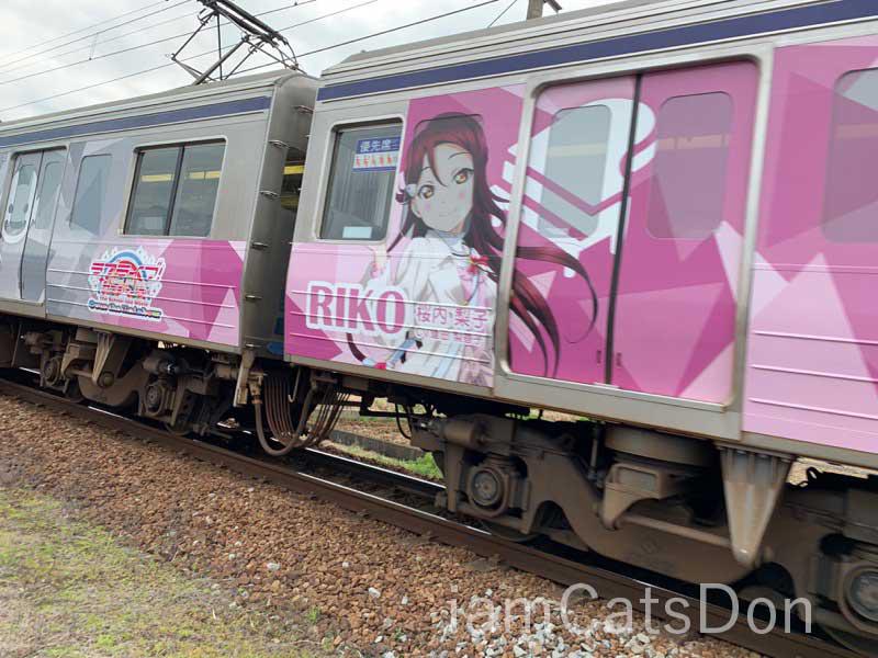伊豆箱根鉄道 ラッピングカー3 2020年