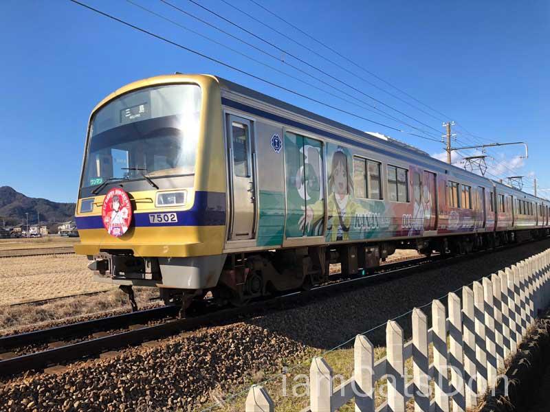 伊豆箱根鉄道 ダイヤちゃんヘッドマーク1 2020年