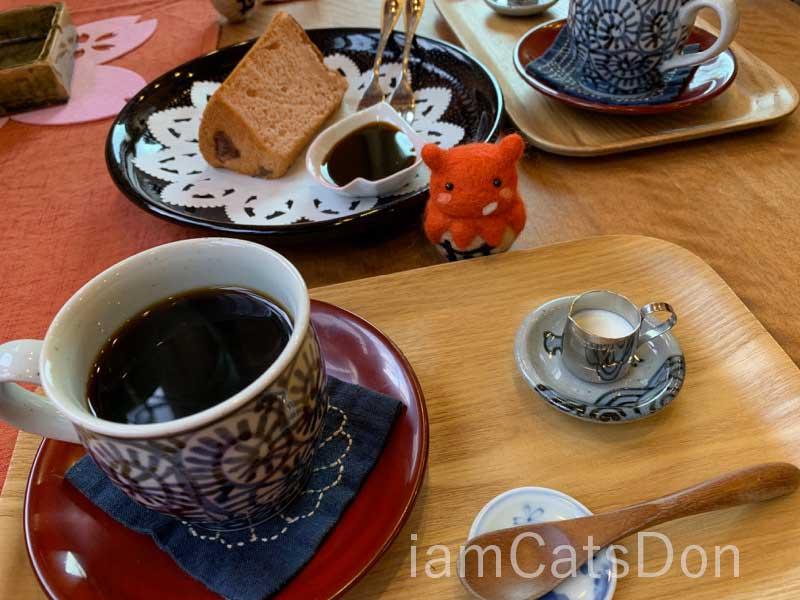 Coffee 桜 沼津 シフォンケーキセット