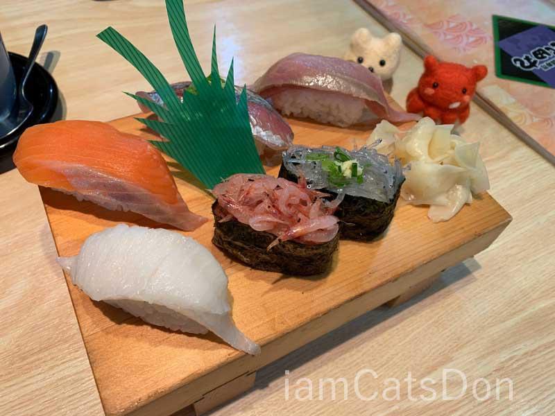 漁師寿し 網元 武田丸 お寿司1