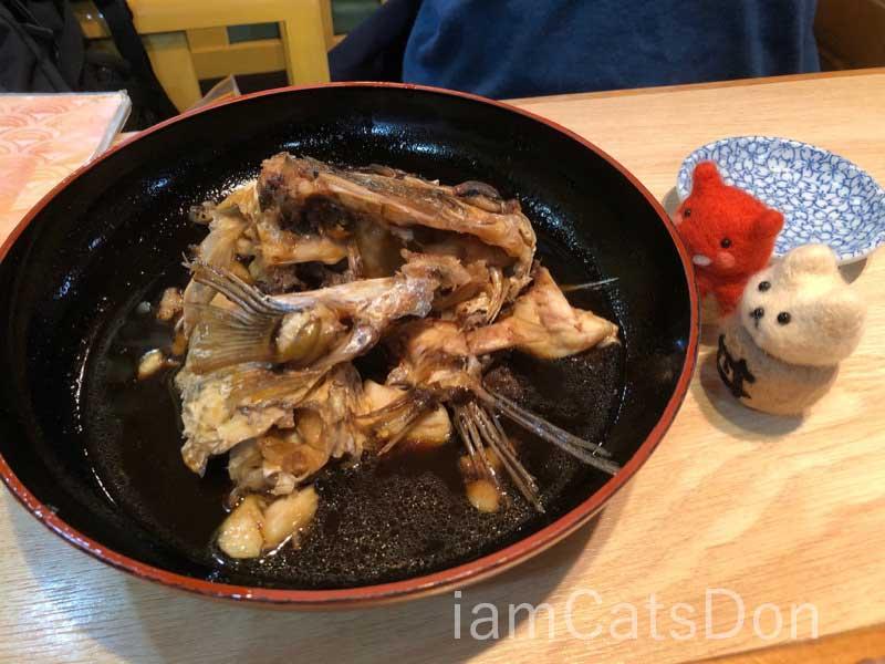 漁師寿し 網元 武田丸 鯛のかぶと煮