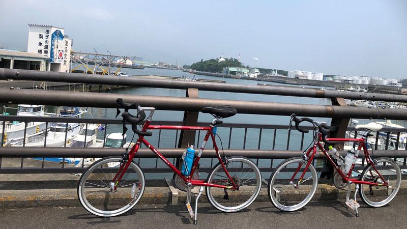 ゆる〜くサイクリング満喫中!