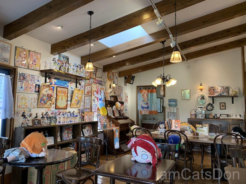 2020年 高海千歌 誕生日 リヴァージュ 喫茶店内 ディスプレイ2