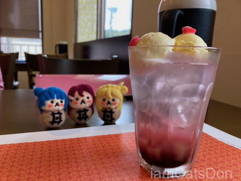 2020年 鞠莉ちゃん 2nd 誕生日 田京 中華料理 いーある 鞠莉ちゃんの頂き(巨乳クリームソーダ)1