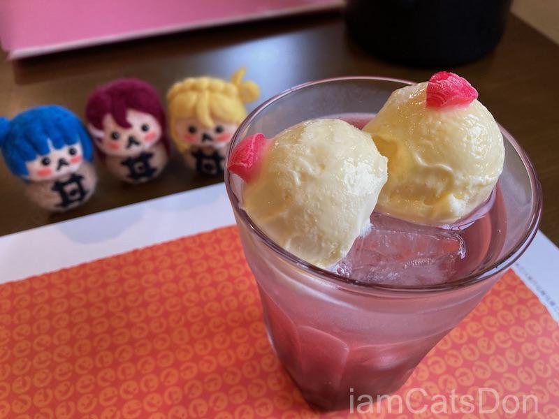 2020年 鞠莉ちゃん 2nd 誕生日 田京 中華料理 いーある 鞠莉ちゃんの頂き(巨乳クリームソーダ)上から