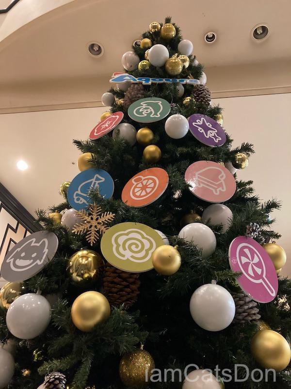 リバーサイドホテル クリスマスツリー 沼津 ぬまづお土産ゲットキャンペーン ラブライブ!サンシャイン!! 3