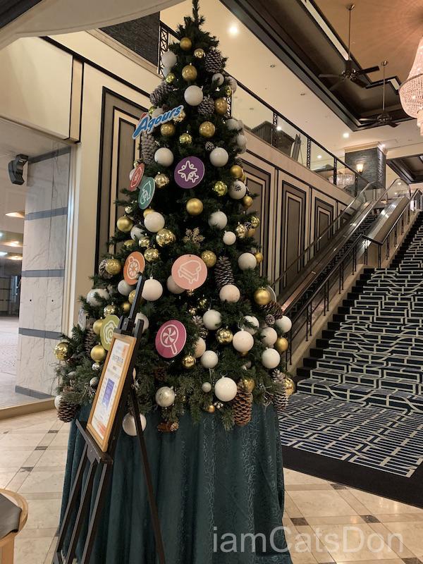リバーサイドホテル クリスマスツリー 沼津 ぬまづお土産ゲットキャンペーン ラブライブ!サンシャイン!! 4