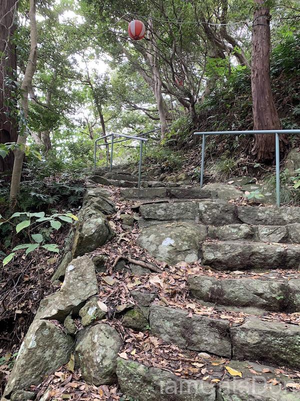 2020年 ヨハネ 2nd 誕生日 あわしまマリンパーク 淡島神社への道3