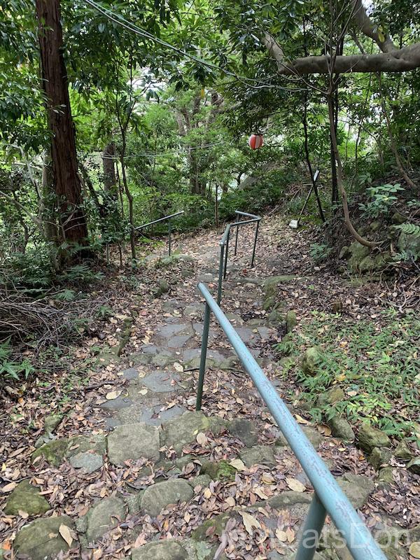 2020年 ヨハネ 2nd 誕生日 あわしまマリンパーク 淡島神社への道4
