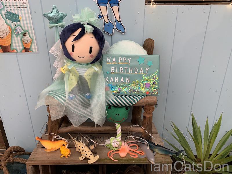 淡島 沼津 うみねカフェ 松浦果南 2021 生誕祭 ディスプレイ4