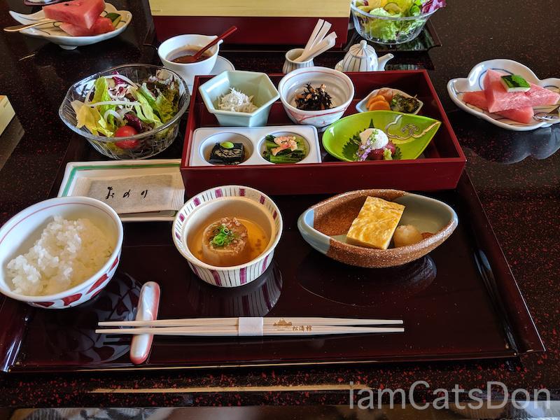 松濤館 沼津 三津浜1泊2食付 おもてなし料理プラン 基本コース 20190601-02 朝食1