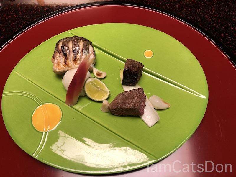 松濤館 沼津 三津浜1泊2食付 おもてなし料理プラン 基本コース 20190601-02 夕食 メインディッシュ1