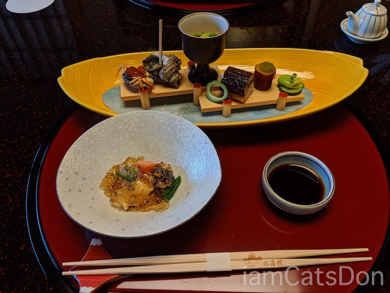 松濤館 沼津 三津浜1泊2食付 おもてなし料理プラン 基本コース 20190601-02 夕食 前菜