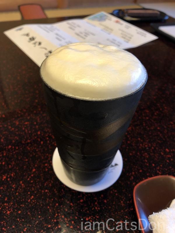 松濤館 沼津 三津浜1泊2食付 おもてなし料理プラン 基本コース 20190601-02 夕食 ビール