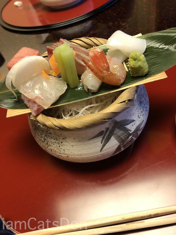 松濤館 沼津 三津浜1泊2食付 おもてなし料理プラン 基本コース 20190601-02 夕食 お刺身 おつくり