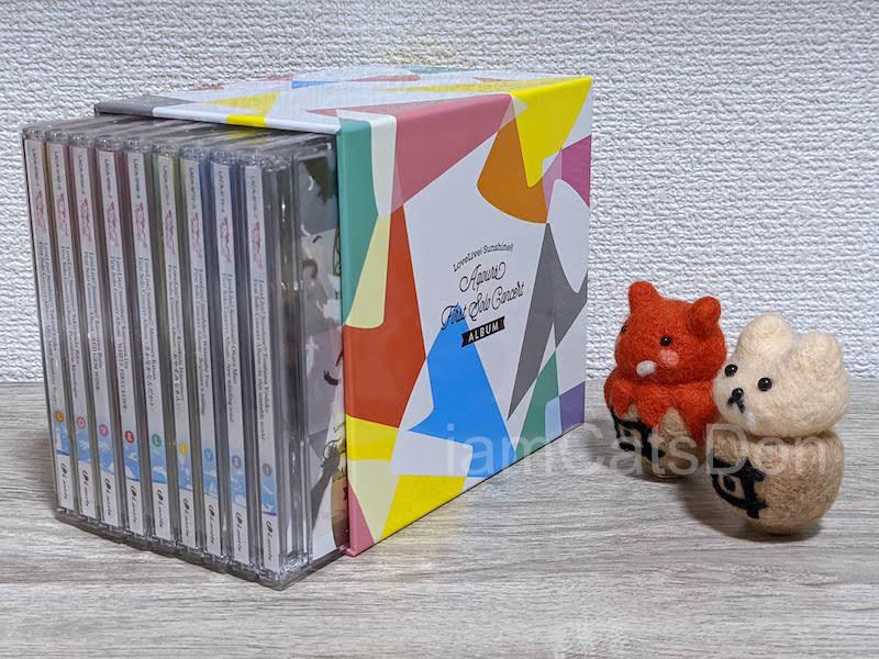 ゲーマーズ沼津店 Aqours First Solo Soncert CD購入 特典 ボックス