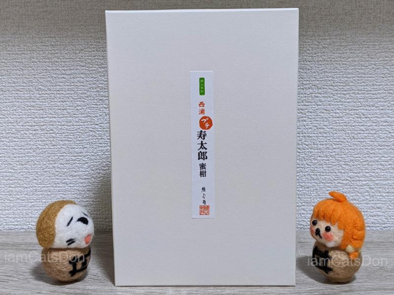 雅心苑 リヴァージュ 西浦 プチ 寿太郎蜜柑 ゼリー 箱
